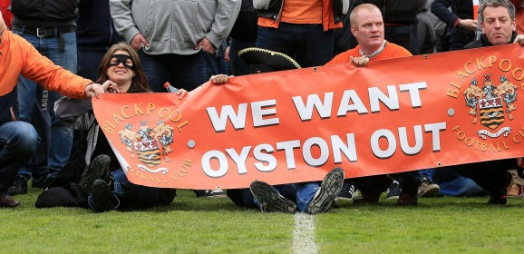 Off-field squabbles continue to overshadow Blackpool's on-field success