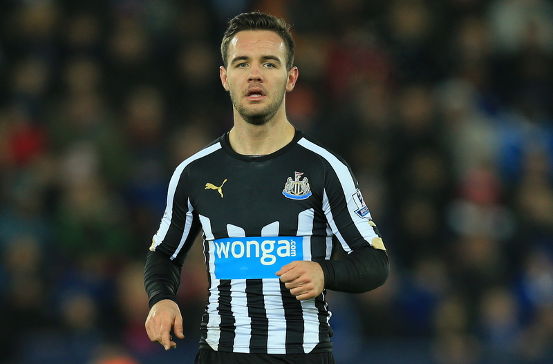 3 January 2015 - The FA Cup 3rd Round - Leicester City v Newcastle United - Adam Armstrong of Newcastle United - Photo: Marc Atkins / Offside.