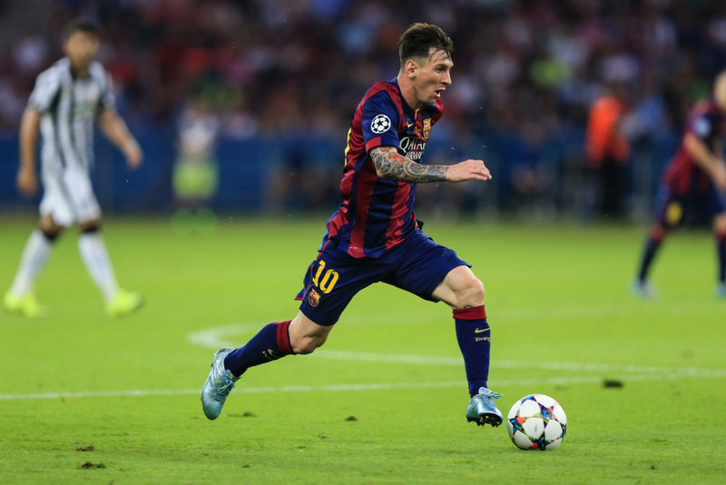 6 June 2015 -UEFA Champions League Final 2015 - Juventus v FC Barcelona - Lionel Messi of FC Barcelona - Photo: Marc Atkins / Offside.