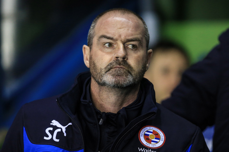 16 March 2015 - The FA Cup - Quarter Final (replay) - Reading v Bradford City - Steve Clarke manager of Reading - Photo: Marc Atkins / Offside.