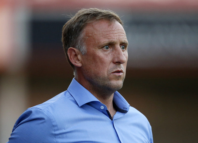 11th July 2014 - Pre Season Friendly - Cheltenham Town v Wolverhampton Wanderers - Cheltenham Town manager Mark Yates - Photo: Paul Roberts / Offside.