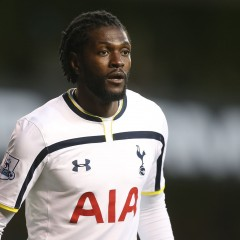 Adebayor should be in Spurs' Premier League squad