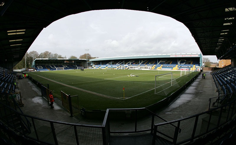 7/3/2009 Coca-Cola Football League 2. Bury v Rochdale. General View (GV) of Gigg Lane - Home of Bury FC. Photo: Simon Stacpoole / Offside.
