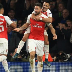 Round-up: Champions League – Arsenal beat Bayern and Chelsea draw in Kiev