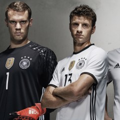 adidas Euro 2016 Kits – Germany, Spain and Belgium kit up for France