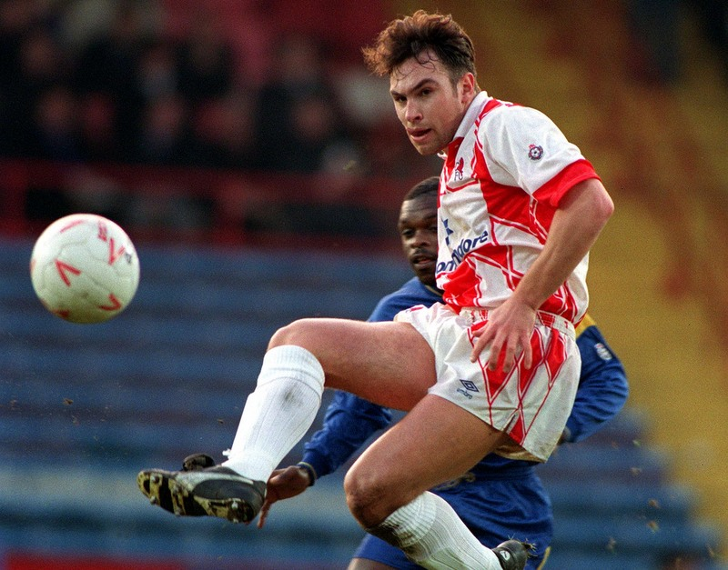 18/1/1992 English Football League Division One Wimbledon v Chelsea Jason Cundy Credit: Offside / Mark Leech