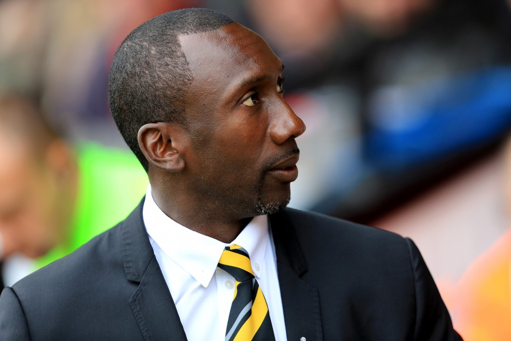 10th October 2015 - Skybet League 1 - Walsall v Burton Albion - Jimmy Floyd Hasselbaink - Photo: Paul Roberts / Offside.