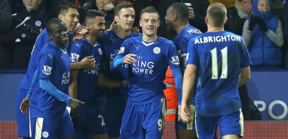 Who can catch Leicester for a Champions League spot?