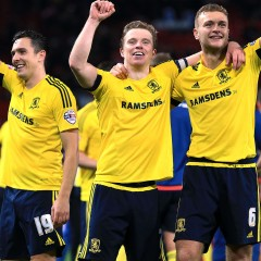 Championship Round-Up: Middlesbrough extend lead at the top as Derby are held