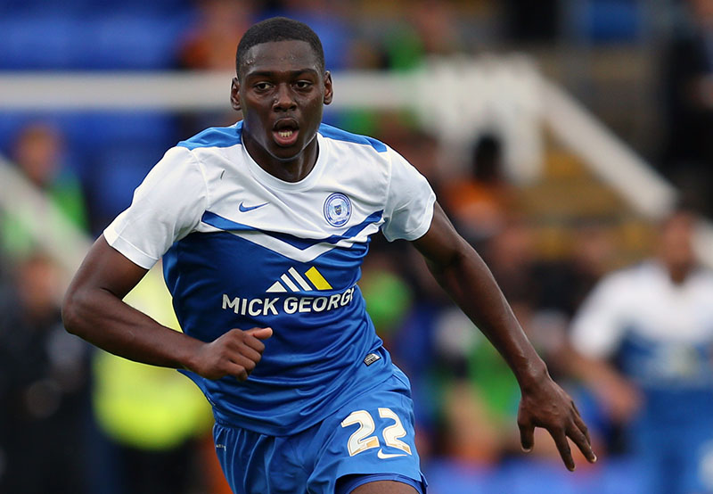 22 July 2014 - Pre-Season Friendly - Peterborough United v Wolverhampton Wanderers - Ricardo Santos of Peterborough United - Photo: Marc Atkins / Offside.