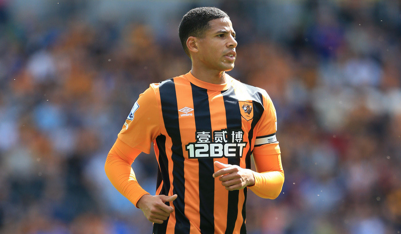 24th August 2014 - Barclays Premier League - Hull City v Stoke City - Curtis Davies of Hull - Photo: Simon Stacpoole / Offside.