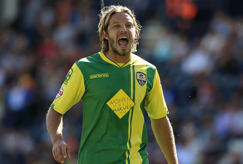 9th August 2014 - Sky Bet League 1 - Preston North End v Notts County - Alan Smith of Notts County - Photo: Simon Stacpoole / Offside.
