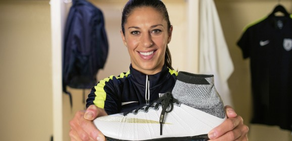 "Carli Lloyd's Mercurucal Superfly ""Leave Your Legacy"" boots"