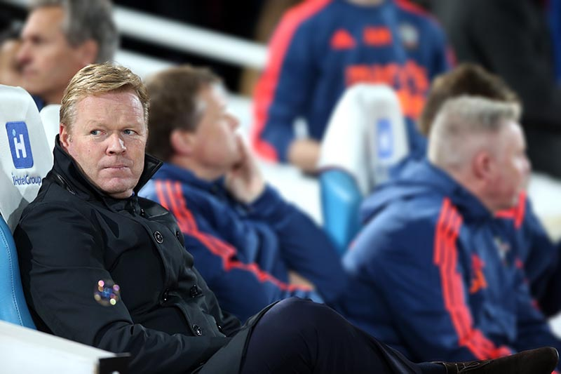 28 December 2015 - Premier League - West Ham United v Southampton Southampton manager Ronald Koeman Photo: Charlotte Wilson / Offside