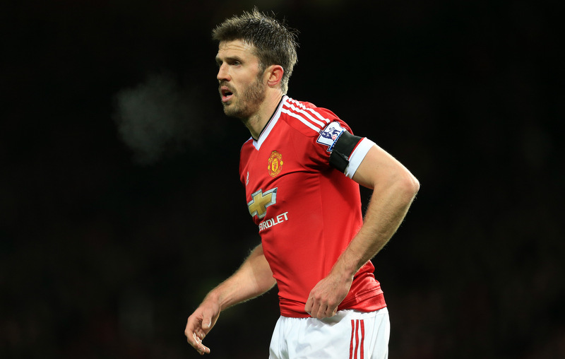2nd February 2016 - Barclays Premier League - Manchester United v Stoke City - Michael Carrick of Man Utd - Photo: Simon Stacpoole / Offside.