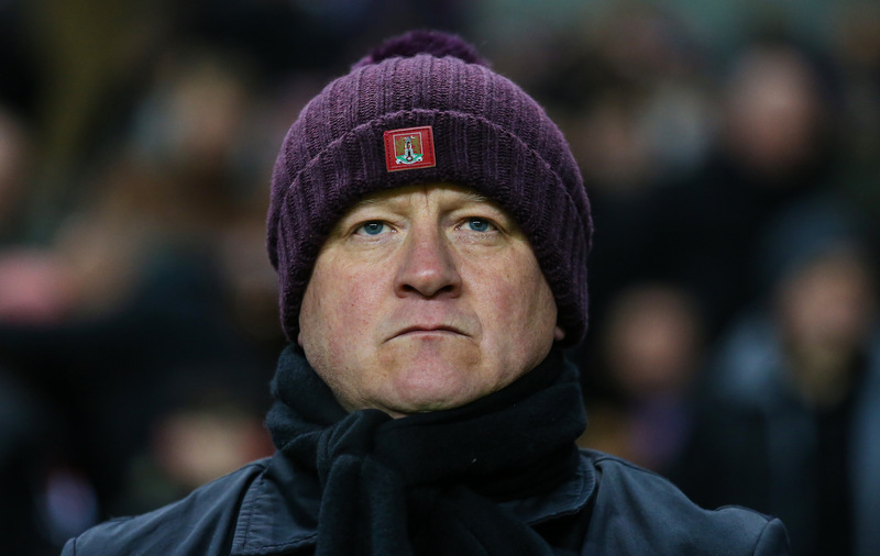 19 January 2016 - The Emirates FA Cup 3rd Round (Replay) - MK Dons v Northampton Town - Chris Wilder manager of Northampton Town - Photo: Marc Atkins / Offside.