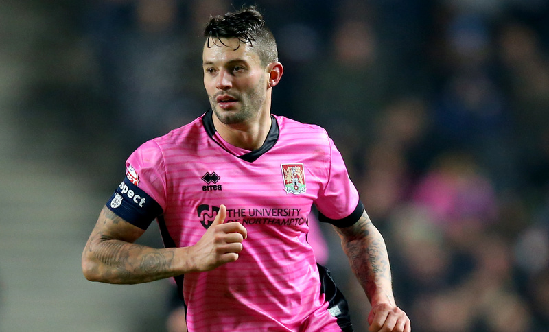 s v Northampton Town - Marc Richards of Northampton Town - Photo: Marc Atkins / Offside.