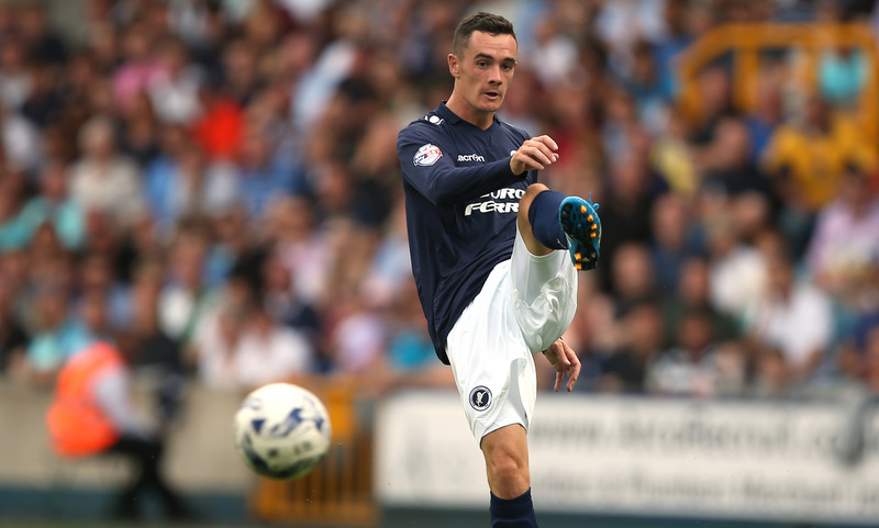 09 August 2014 Football League Championship - Millwall FC v Leeds United -Shaun Williams of Millwall.Photo: Mark Leech