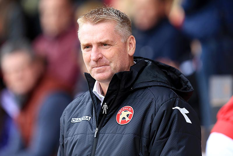 10th October 2015 - Skybet League 1 - Walsall v Burton Albion - Walsall manager Dean Smith - Photo: Paul Roberts / Offside.