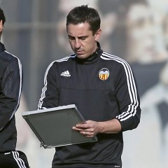 AUDIO: Neville won't resign despite heavy loss to Barcelona
