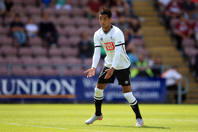 18 July 2015 - Pre-Season Friendly - Northampton Town v Derby County - Tom Ince of Derby County - Photo: Marc Atkins / Offside.