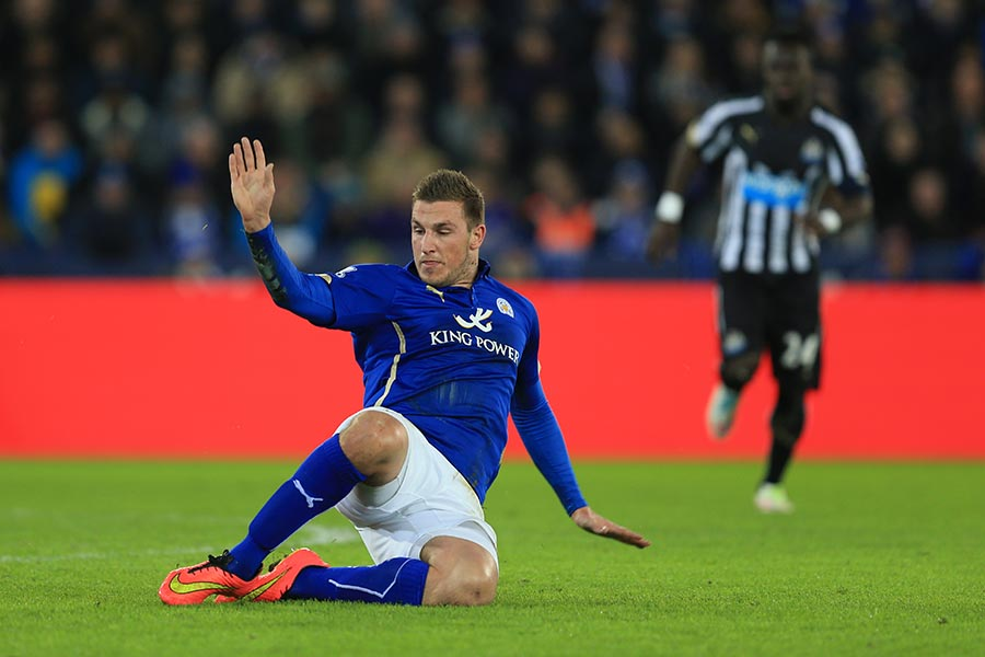 3 January 2015 - The FA Cup 3rd Round - Leicester City v Newcastle United - Chris Wood of Leicester City - Photo: Marc Atkins / Offside.