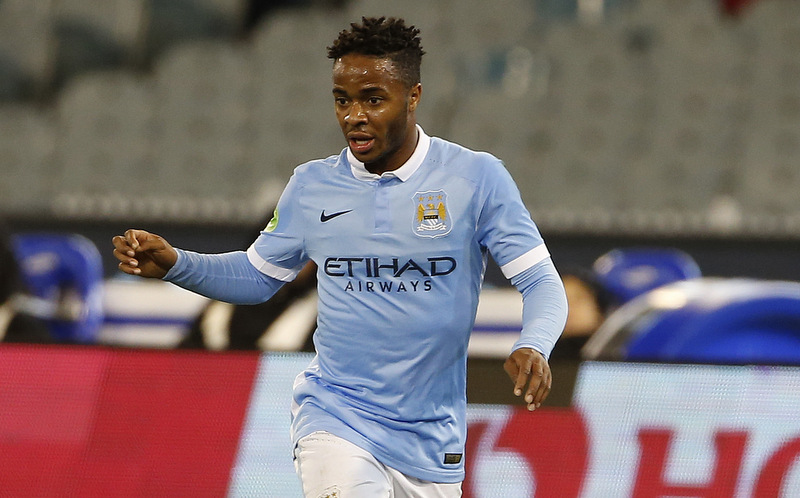 21 July 2015 Manchester City v RomaFriendly match played between Manchester City and Roma. In this picture, Raheem Sterling.