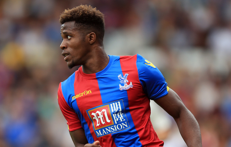 1 August 2015 - Pre-Season Friendly - Fulham v Crystal Palace - Wilfried Zaha of Crystal Palace - Photo: Marc Atkins / Offside.