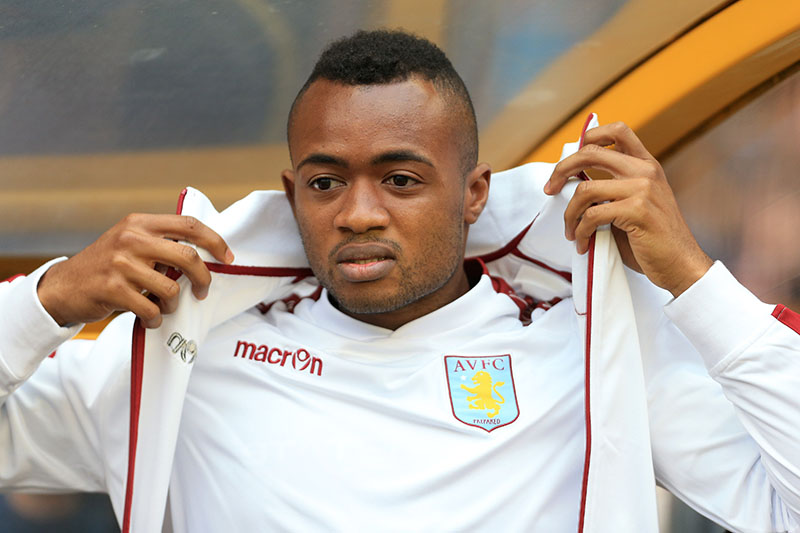 28th July 2015 - Pre-Season Friendly - Wolverhampton Wanderers v Aston Villa - Jordan Ayew of Villa - Photo: Simon Stacpoole / Offside.
