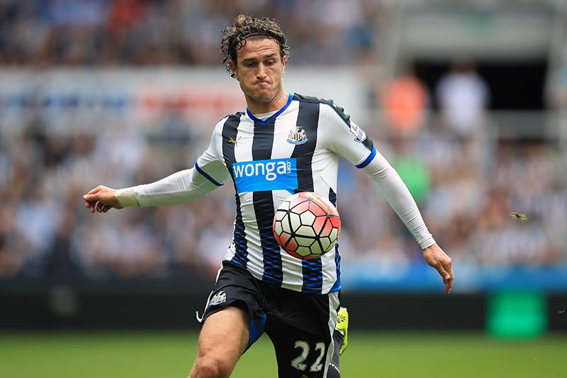 9 August 2015 - Barclays Premier League - Newcastle United v Southampton - Daryl Janmaat of Newcastle United - Photo: Marc Atkins / Offside.