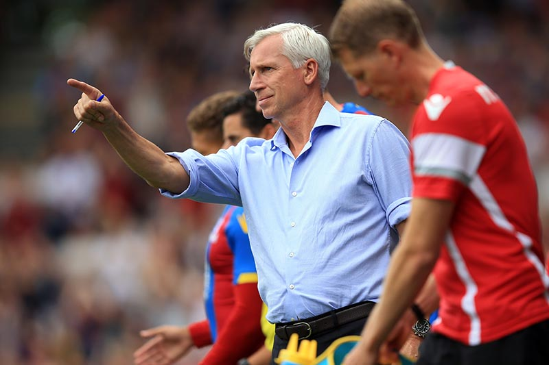 1 August 2015 - Pre-Season Friendly - Fulham v Crystal Palace - Alan Pardew, Manager of Crystal Palace - Photo: Marc Atkins / Offside.