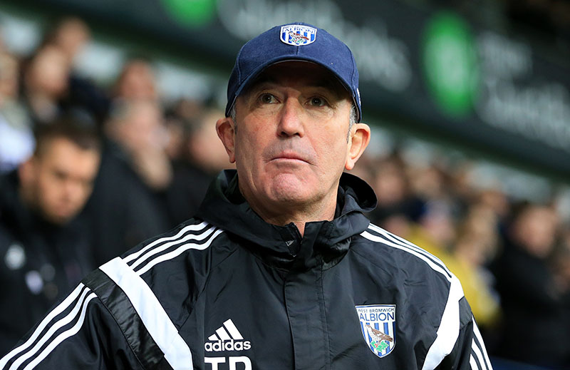14th February 2015 - FA Cup 5th Round - West Bromwich Albion v West Ham United - West Bromwich Albion manager Tony Pulis - Photo: Paul Roberts / Offside.