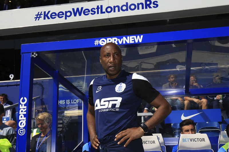 16 May 2015 - Barclays Premier League - QPR v Newcastle United - Chris Ramsey, Manager of Queens Park Rangers - Photo: Marc Atkins / Offside.
