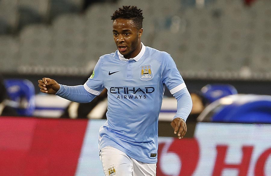 21 July 2015 Manchester City v Roma Friendly match played between Manchester City and Roma. In this picture, Raheem Sterling.
