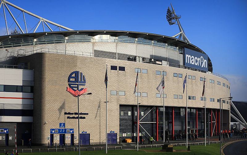 13th December 2014 - Sky Bet Championship - Bolton Wanderers v Ipswich Town - A general view (GV) of the Macron Stadium - Photo: Simon Stacpoole / Offside.