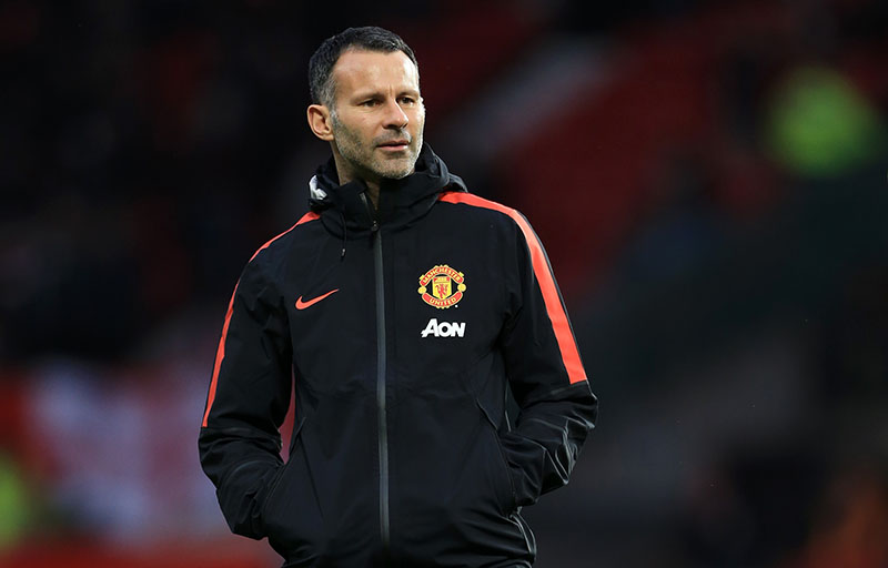 11th January 2015 - Barclays Premier League - Manchester United v Southampton - Man Utd assistant Ryan Giggs - Photo: Simon Stacpoole / Offside.