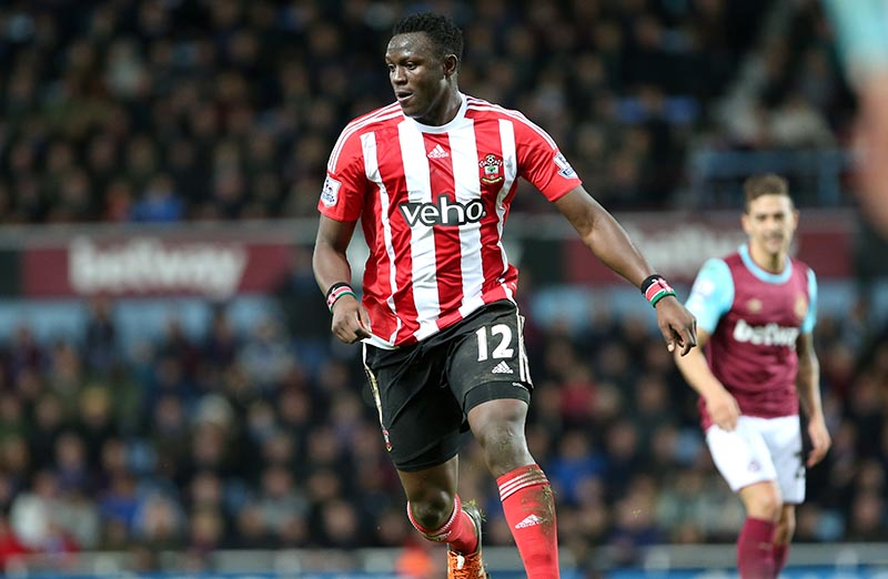 28 December 2015 - Premier League - West Ham United v Southampton Victor Wanyama of Southampton in action Photo: Charlotte Wilson / Offside
