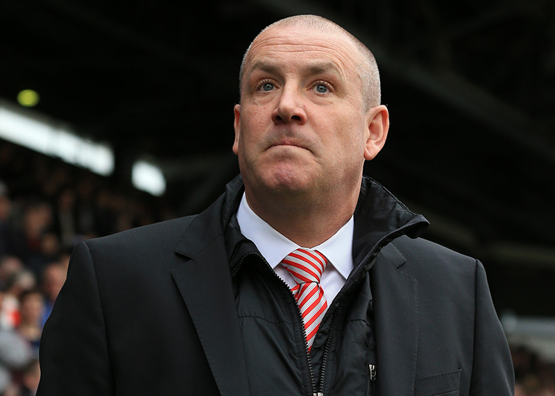 03 April 2015 - Sky Bet Championship - Fulham v Brentford - Mark Warburton, Manager of Brentford - Photo: Marc Atkins / Offside.