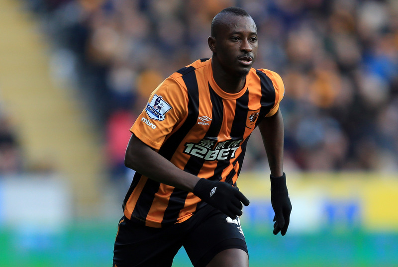 22 March 2015 - Barclays Premier League - Hull City v Chelsea - Dame N'Doye of Hull City - Photo: Marc Atkins / Offside.