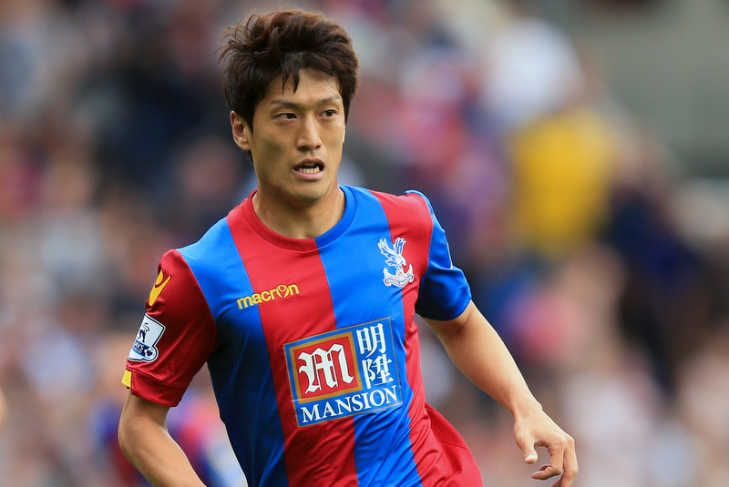 16 August 2015 - Barclays Premier League - Crystal Palace v Arsenal - Lee Chung-yong of Crystal Palace - Photo: Marc Atkins / Offside.
