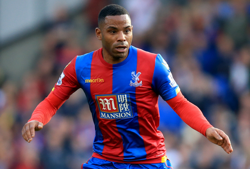 31 October 2015 - Barclays Premier League - Crystal Palace v Manchester United - Jason Puncheon of Crystal Palace - Photo: Marc Atkins / Offside.
