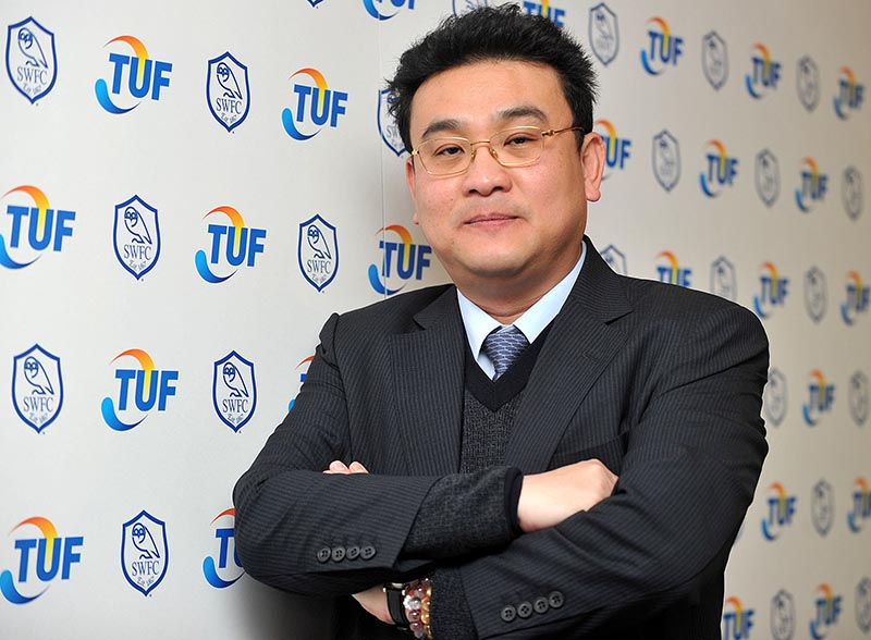 2 March 2015 - Sheffield Wednesday Press Call The new owner of The Owls, Dejphon Chansiri Photo: Steve Parkin